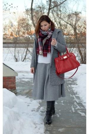 asos skirt - H&M coat