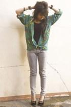 shirt - t-shirt - jeans - shoes