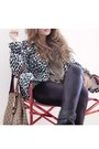 Leather-zara-leggings-alcot-boots-zebra-h-m-coat-gucci-bag