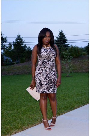 Tannys Couture dress - H&M bag - Charlotte Russe heels