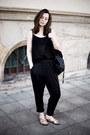Black-monki-tights-black-new-yorker-bag-gold-tk-maxx-flats