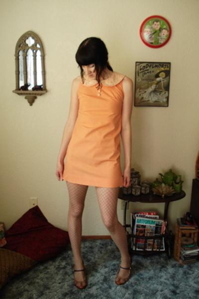 handmade dress - Victorias Secret tights - Kenzie shoes