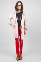 fenella BB Dakota jacket - scale Laura Lombardi necklace