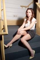 aryn k dress - vintage heels