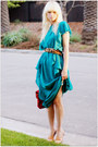 Vintage-dress-vintage-belt