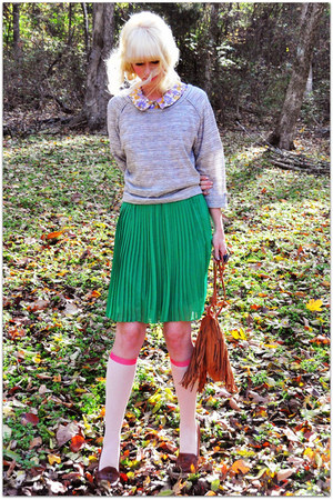 francescas skirt - vintage blouse