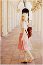 Vintage-dress-romwe-bag-urban1972-blouse