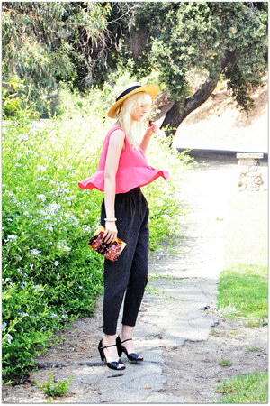vintage blouse - corso como pumps