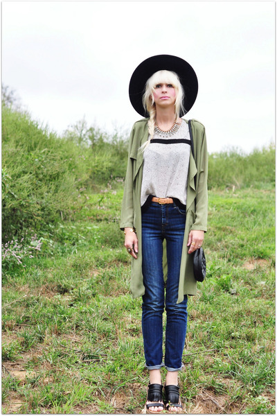 She Inside coat - Le Tote blouse