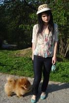Issie B London bag - Diane Von Furstenberg top - mauro grifoni flats - Cooming S