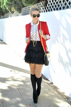 DKNY skirt - LC Lauren Conrad blazer