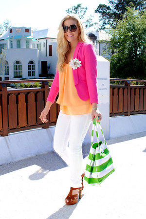 H&M blazer - LC by Lauren Conrad shoes - kate spade bag