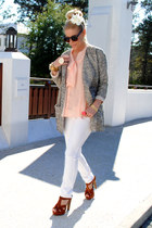 The Tee by Joes blazer - Forever 21 top - LC by Lauren Conrad pants