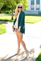 H&M top - Daisy rae blazer - BCBG shorts