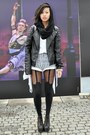 Black-c-a-jacket-off-white-zara-shirt-navy-vintage-shorts-black-jeffrey-ca