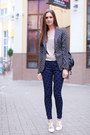 Cream-oasap-shoes-navy-asos-jeans-black-zara-blazer-black-vjstyle-bag