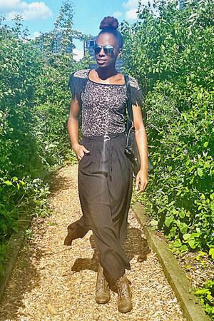 black maxi skirt skirt - army green knee high boots