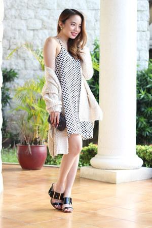 printed Paradise Treats dress - heels SPRUCE heels