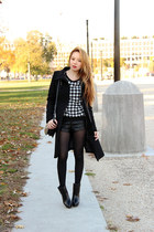 houndstooth Cleo Cat Fashion sweater