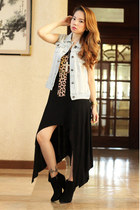 maxi Plush clothing dress