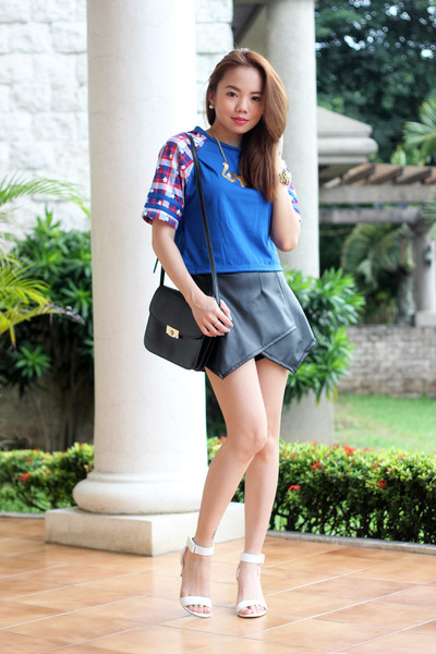 shirt Naked Clothing top - origami Style Quench shorts