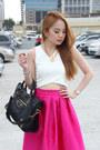 Cropped-pinkaholic-top-bouffant-skirt-pinkaholic-skirt