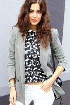 Ralph Lauren jeans - Mango blazer - 31 Phillip Lim bag - Sportsgirl top