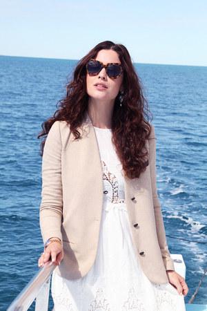 Michael Kors watch - Ark & Co dress - asos hat - Karen Walker sunglasses