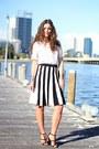 Zara-bag-asos-skirt-asos-heels-asos-top-michael-kors-watch