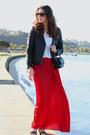 Crimson-leather-h-m-jacket-white-zara-top
