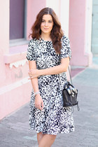 asos dress - 31 Phillip Lim bag - sam edelman sandals - Michael Kors watch