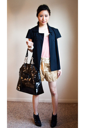 Aldo boots - willi smith blazer - Guess bag - Express shorts - Urban Outfitters