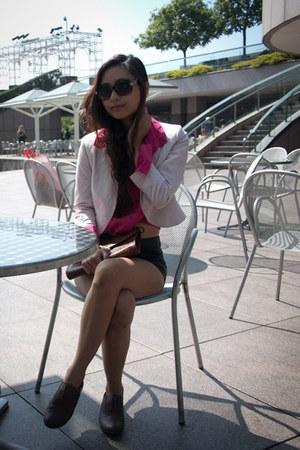 H&M blazer - H&M shorts - H&M blouse