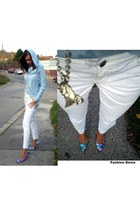 Michael Kors sweater - Michael Kors jeans - BCBGeneration pumps - Ebay necklace