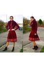 Zara-women-skirt-colin-stuart-boots-victorias-secret-jacket