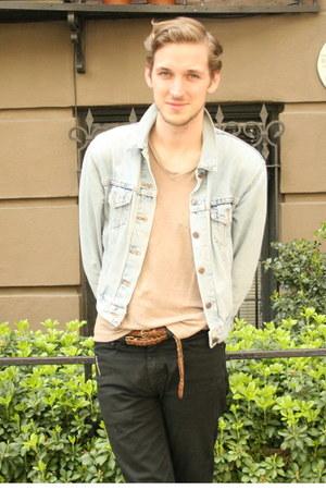 denim Levis jacket - black 510 denim Levis jeans