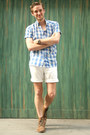 Brown-cole-haan-boots-vintage-shirt-vintage-shorts-face-timex-watch