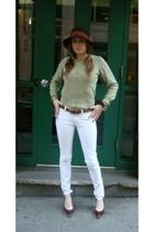 Lacoste top - H&M jeans - Aldo shoes