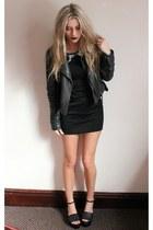 Chi Chi dress - Topshop jacket