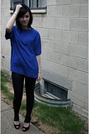 blouse - Kova & T leggings - shoes