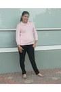 Dark-wash-jeans-forever21-jeans-hillard-and-hanson-sweater