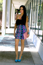 tribal Forever 21 skirt - bubble gum TJ Maxx bag