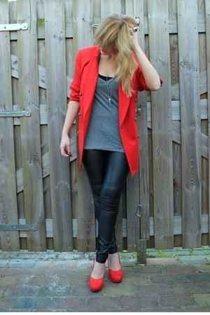 red Classiques Entier blazer - red H&M shoes