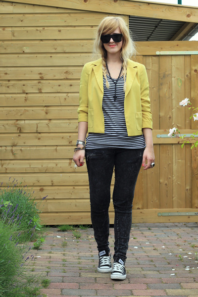 yellow blazer River Island blazer