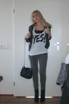 Zara blazer - Zara accessories - circle of trust leggings - Zoppini accessories