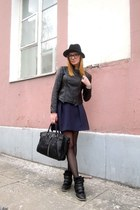 Zara coat - Mango skirt