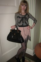 Sonia by Sonia Rykiel top - 31 phillip lim skirt - costume earrings - vintage ne