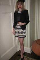 Helmut Lang blazer - 31 phillip lim dress - belt - Chanel shoes