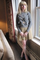 heather gray cable-knit 31 Phillip Lim sweater