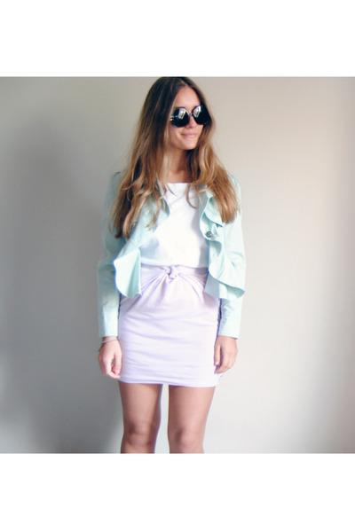 light brown H&M sunglasses - aquamarine Market in London blazer